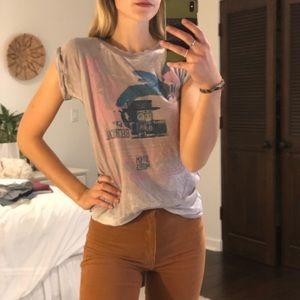 Free people graphic T